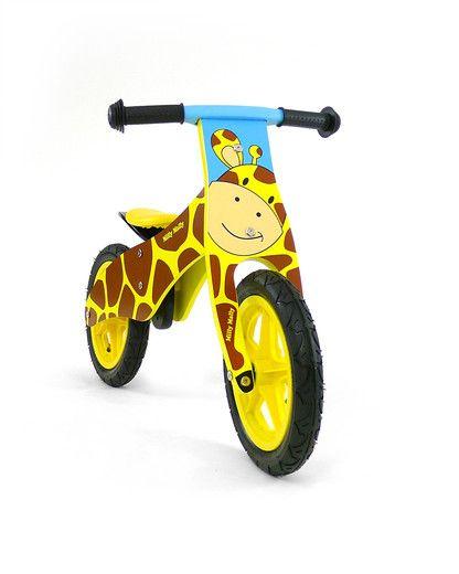 Milly Mally loopfiets DUPLO (Giraffe)  De Milly Mally DUPLO loopfietsen serie staat voor uitdagend en fantasierijk speelplezier gemaakt van hoogwaardig hout. De Duplo serie bestaat uit een Aap, Giraffe, Hond, Kat en tijger, welke wordt het voor uw kliene dierenvriend?  Kwaliteitsspeelgoed van het merk Milly Mally geeft u de zekerheid van jarenlang speelplezier.