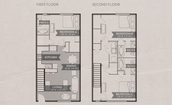 8 Best Townhomes Images On Pinterest College Station Woodland And Bedroom Apartment