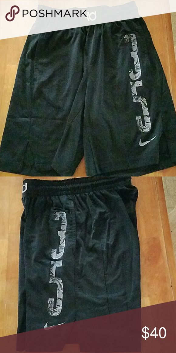 Nike KD basketball shorts Worn once, too small. Breathe very well, and look really cool. Make me an offer or buy now! Nike Shorts Athletic