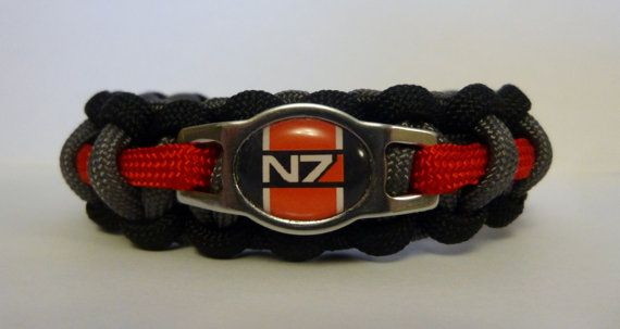 Mass Effect N7 Paracord Bracelet