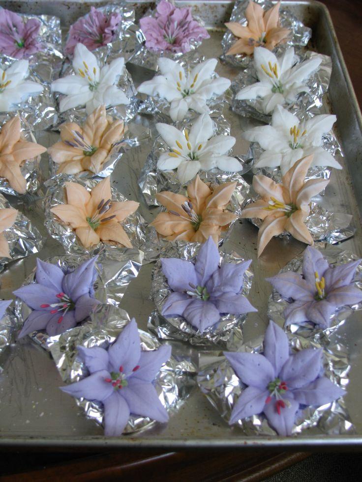 Royal Icing Cake Flowers