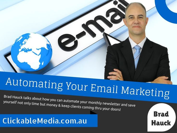 Automating your Business's Email Marketing with Brad Hauck