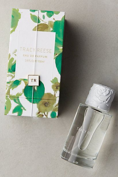 Tracy Reese Eau De Parfum - anthropologie.com Eau De Parfum: femme and flowery, this scent has a heart of lavender that's topped with magnolia, hints of green tea, sandalwood and musk (FLORAL)