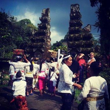 Hindu ceremony in Bali
