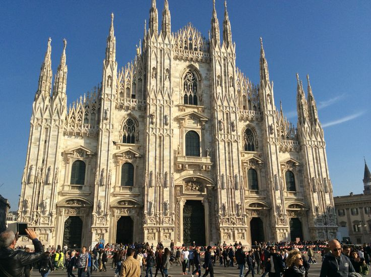Il Duomo ,Milan Italy