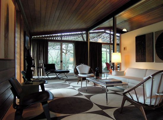 Amazing Mid Century Homes New York Pictures - Simple Design Home ...