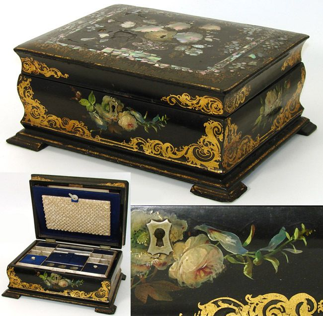 Victorian Sewing | Victorian Sewing Box & 157 best Victorian Sewing images on Pinterest | Sewing tools ... Aboutintivar.Com
