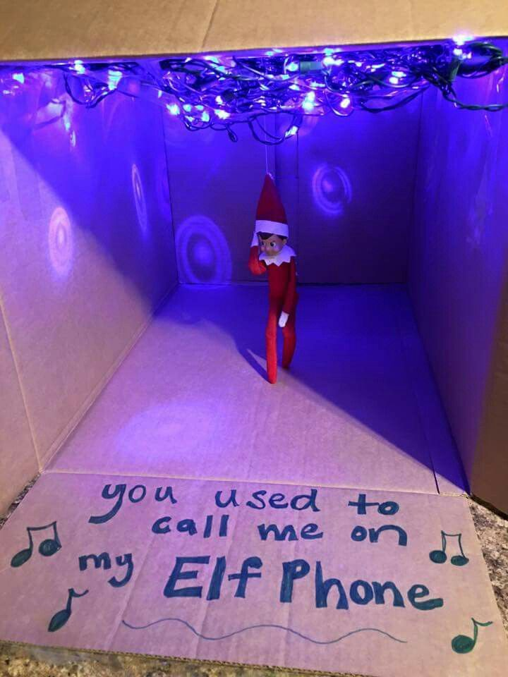 Elf hotline bling! Lol!