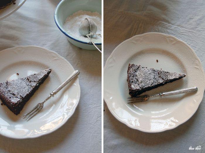 Flourless Chocolate Cake   Pasta Flora