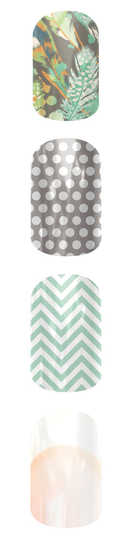 Gorgeous green and gray styles! These would look beautiful together. Get yo Jam on! Contact me for a free sample! ksangster.jamberrynails.net
