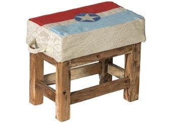 vintage houten zitbankje Room Seven | kinderen-shop Kleine Zebra