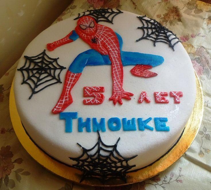 человек паук #торт_на_заказ_артемовск #день_рождения
