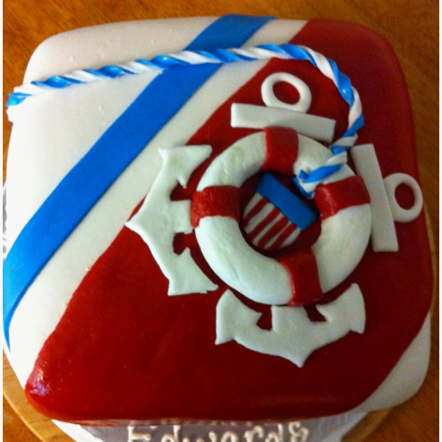 17 Best Images About Coast Guard Cake On Pinterest Make