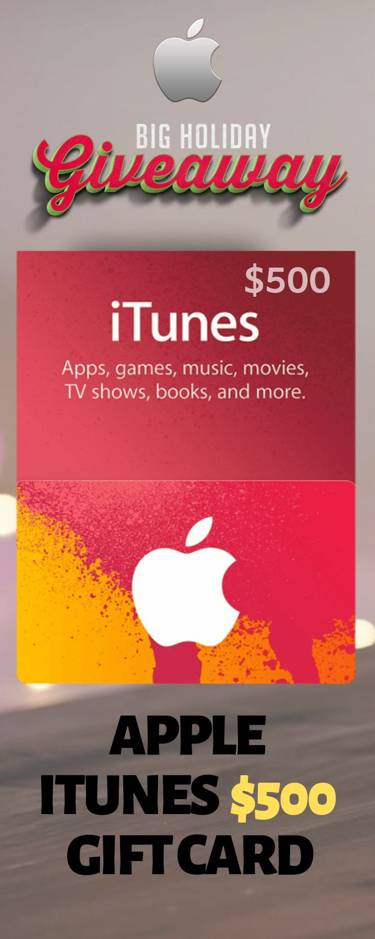 Itunes gift card giveaway itunes gift card giveaway