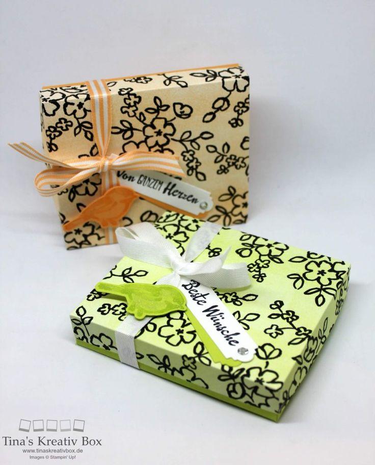 Pootler's Blog Hop – Schachtel Blütenfantasie - mit Produkten von Stampin' Up!