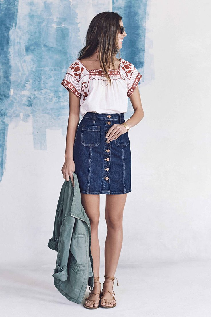 Honestly, we couldn't be more juiced about Madewell's spring collection - the…