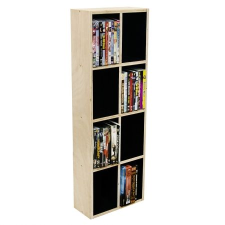 Howards Storage World | DVD Unit - 8 Compartment