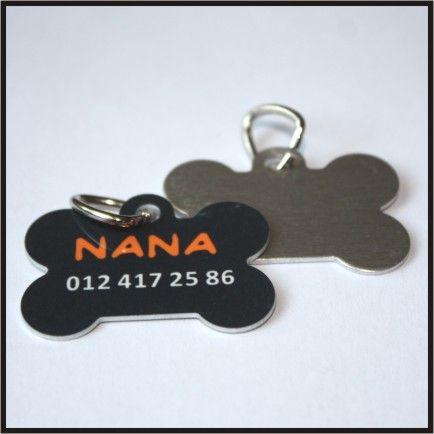 Identyfikator dla zwierząt - Kostka - (nadruk, IZNN1) :: NANA