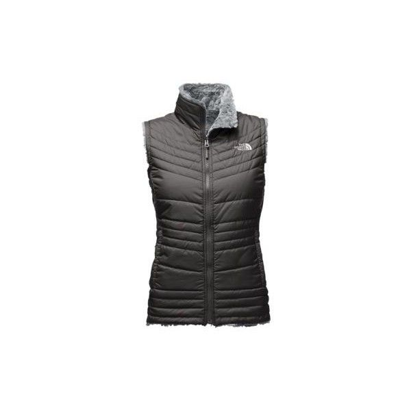 The North Face Women's Mossbud Swirl Vest (Size: Large) ($99) ❤ liked on Polyvore featuring outerwear, vests, insulated vest, fleece lined vest, the north face, layered vest and the north face vest
