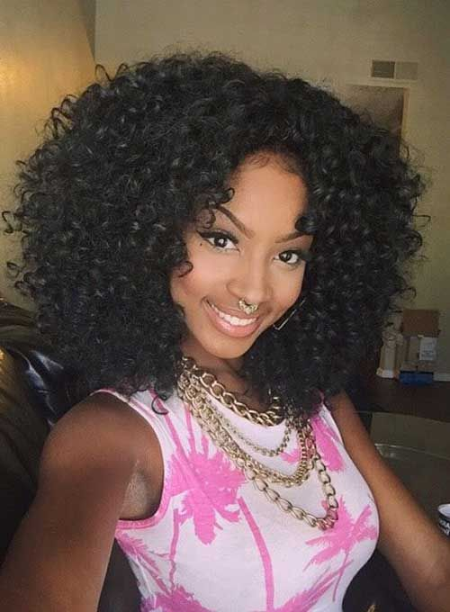 Amazing 1000 Ideas About Curly Weave Hairstyles On Pinterest Curly Hairstyle Inspiration Daily Dogsangcom