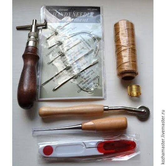 Набор для начинающих для шитья по коже №1