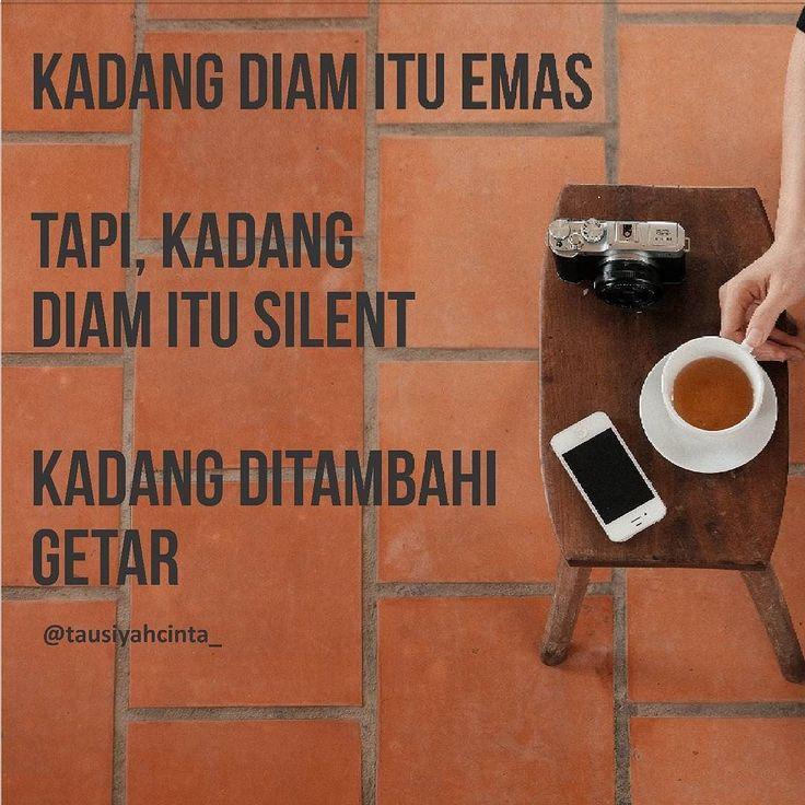 Diam itu.... . #tausiyahcinta http://ift.tt/2f12zSN