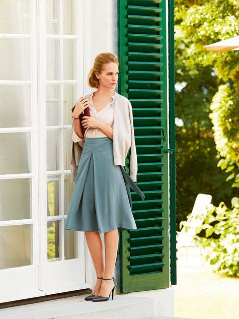 Wrap Yoke Skirt Burda Style pattern