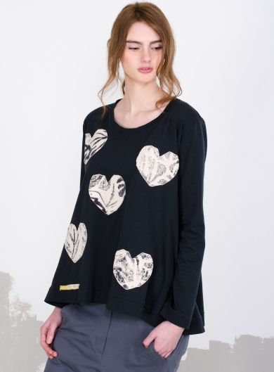 "Blouse ""hearts"""