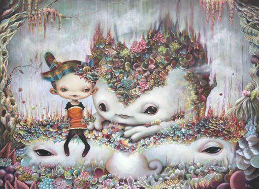 Japanese artist Yosuke Ueno creates worlds of a strange and surreal nature. Ueno wants to take the viewer on a magical ride, introducing unu...