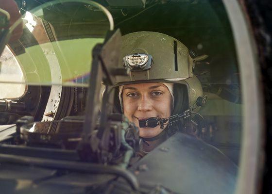 Hugrian Mi-24 Pilot