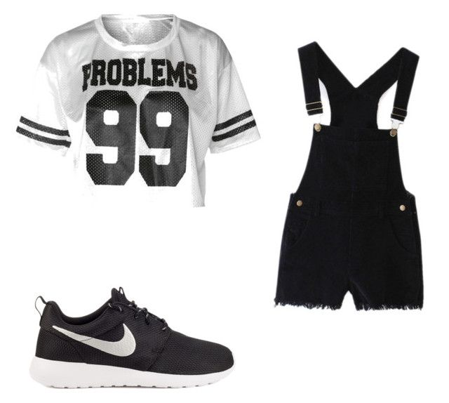 """""""I got 99 probs wif out yaa"""" by super19fam on Polyvore featuring beauty and NIKE"""