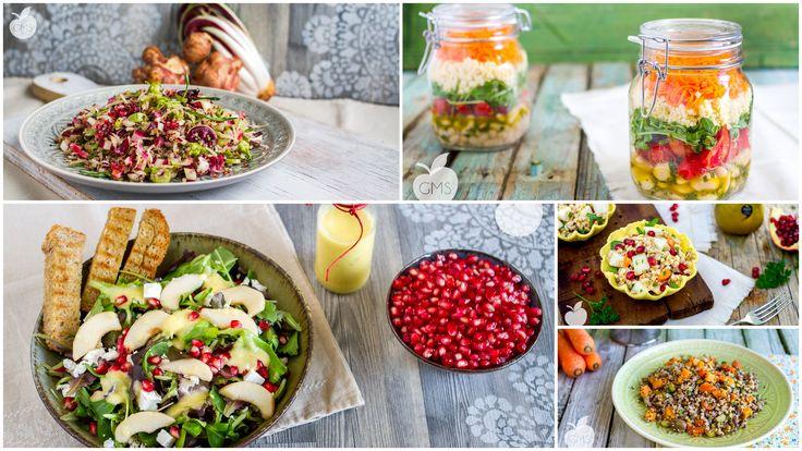 """Quando si parla di """"insalata"""" la prima cosa che viene in mente è senza dubbio una ciotola di foglie verdi, poco appetitose..."""