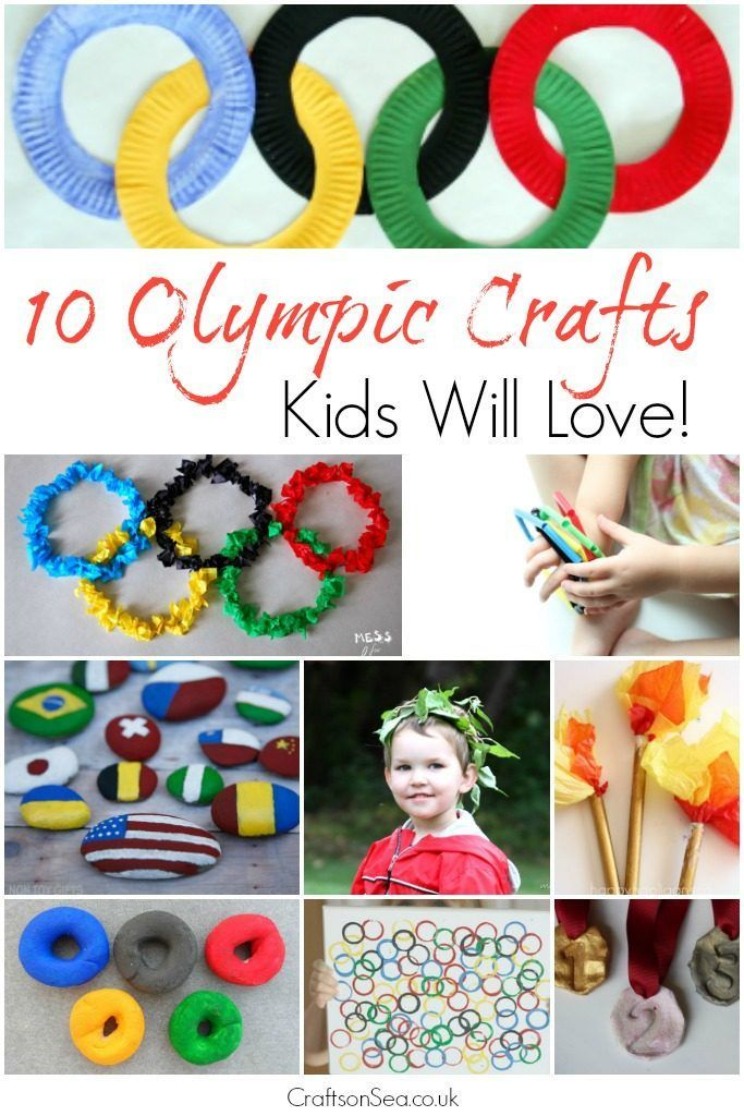 10 Olympic Crafts Kids Will Love