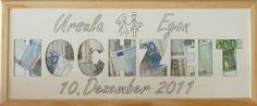 Mill Design. Zur Hochzeit neuen gemeinsamen Nachnamen ausschneiden, mit Geld statt Fotos füllen, nach der Hochzeit können Fotos reingetan werden                                                                                                                                                      Mehr
