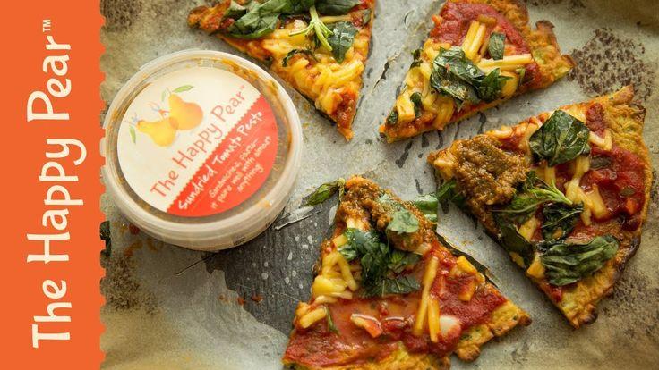 Vegan Pizza Puda w Jasmine Hemsley #VEGANUARY