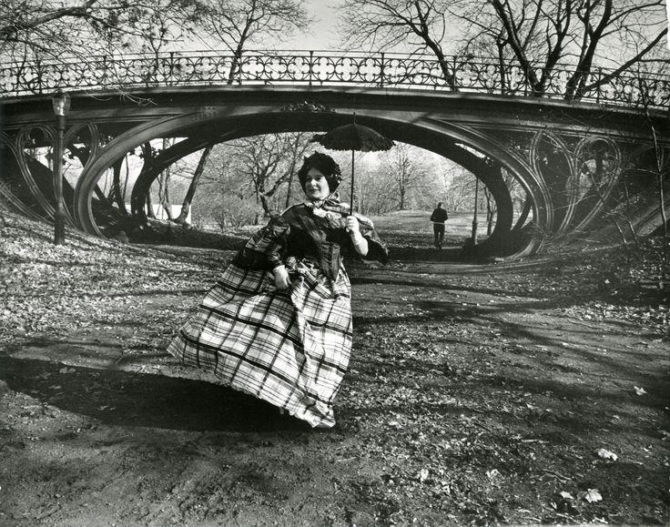 Bill Cunningham: Facades - Editta Sherman in Central Park