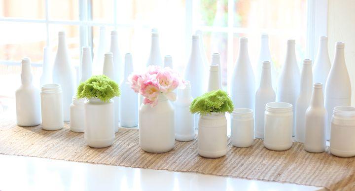 Ideas con botellas de vidrio que vas a querer imitar