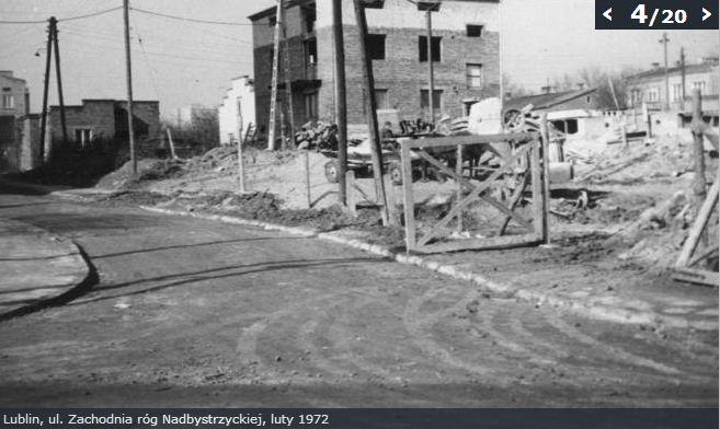 Zachodnia/Nadbystrzycka luty 1972 r.