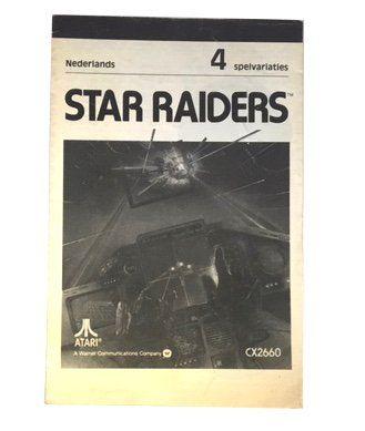 Atari 2600 – Star Raiders Instructions (Dutch)  Atari  Manuals & Inserts www.detoyboys.nl