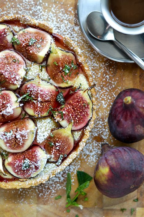 Fig & Almond Frangipane Tart recipe: Afternoon Tea.
