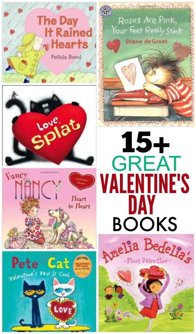 Over 15 GREAT Valentine's Day books to read with your kids! Snuggle up for some quality reading time with the little ones.