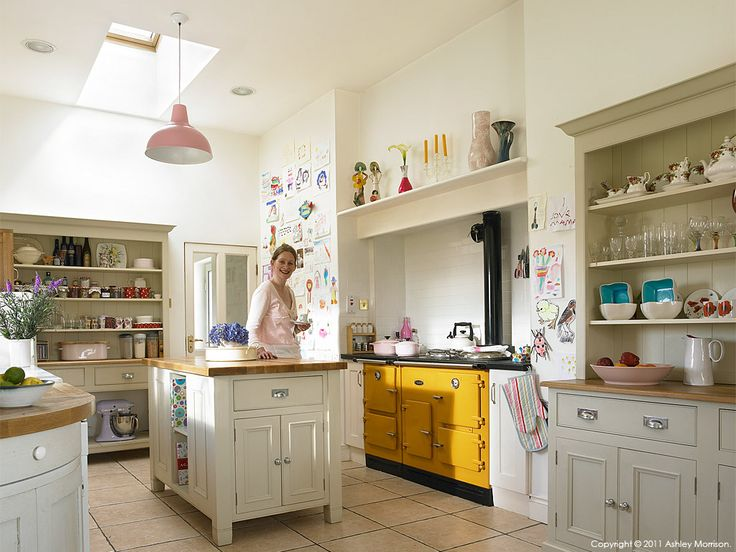 Brid Ni Fhlathuin In The Kitchen Of Her Modernised Irish Cottage Overlooking Aran Islands Connemara By Ashley Morrison And Marie Mcmillen