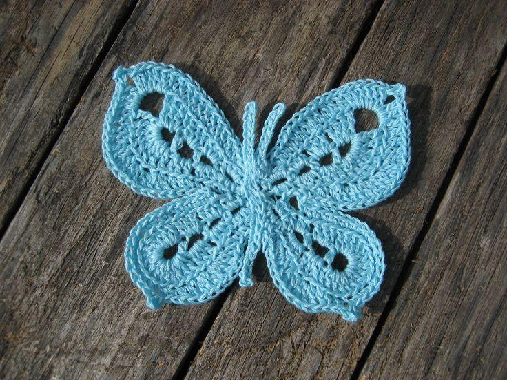 free butterfly pattern crochet