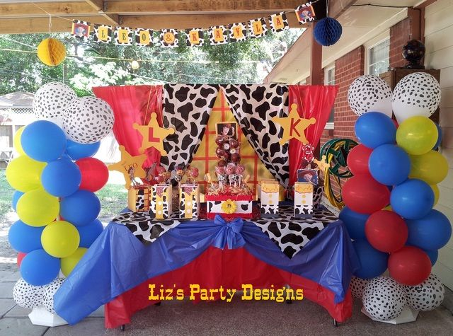 "Photo 2 of 28: Toy Story Woody and Jessie / Birthday ""Leo and Kayla's Round Up"" 