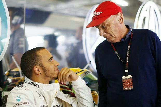 "Lauda: ""I told you Lewis, I won 3 titles because I was a bastard!"""