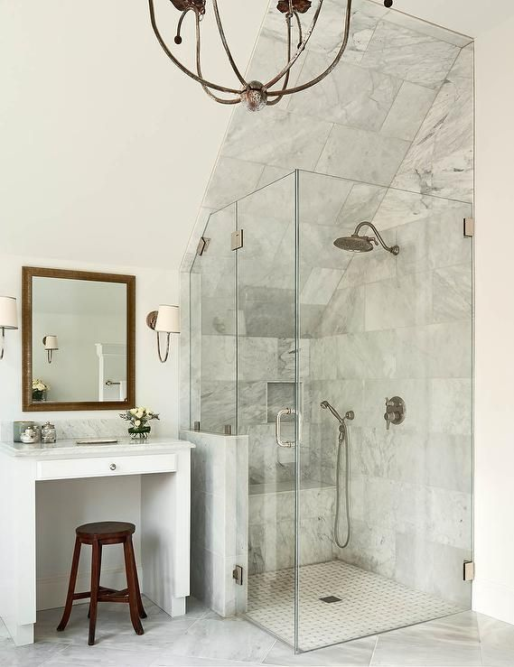 17 best ideas about sloped ceiling on pinterest sloped for Sloped ceiling bathroom ideas