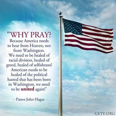 Why pray for America?