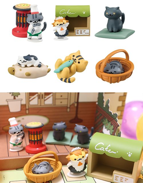 Get the rare cat figurines, plushies and cushions here on SUDDENLY CAT!Neko Atsume: Kitty Collector (Japanese: ねこあつめ) is a cat collecting game developed by Hit-Point.