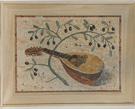 "Stephen Brailo- ""mandolin"" mosaic tiles"