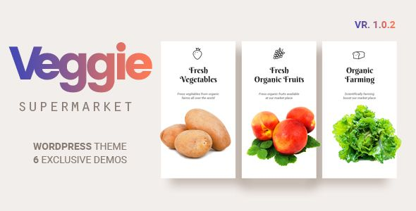 Veggie | Vegetable and Fruit Shop WordPress Theme Download